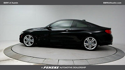 2014 BMW 4-Series 435i 435i 4 Series 2 dr Coupe Automatic Gasoline 3.0L STRAIGHT 6 Cyl Black Sapphire M