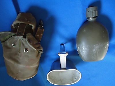 Portugal Portuguese Africa War Military Canteen With Cook Set Complet
