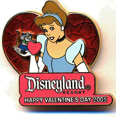 DLR - Valentine's Day 2005 Collection Cinderella & Gus Limited Edition Pin