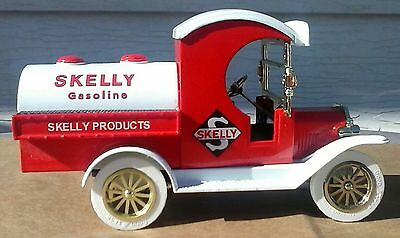 Metal Toy Truck Bank, Vintage, Skelly Ford Gas Truck, Over 20 years old