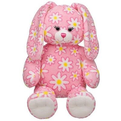 Build A Bear Workshop 16 in. Daisy Bunny Plush Stuffed Animal Very COLLECTIBLE