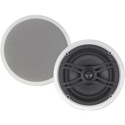 """Yamaha NS-IW560C 8"""" In-Ceiling Speakers New Pair NSIW560 (White) Shipping Fast!!"""