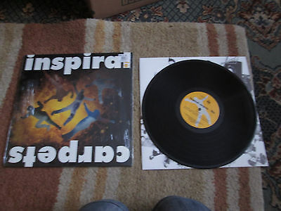 Inspiral Carpets LIFE - 1990 LP Embossed Cover Cow Records Dung 8
