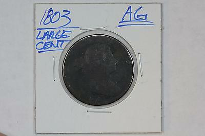1803 Draped Bust Large 1C Cent Ag