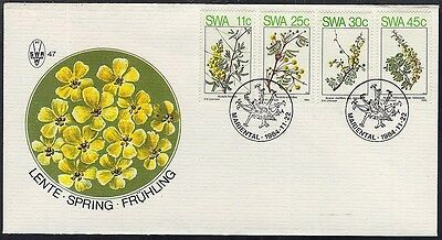 South West Africa 1984 Spring In Swa Complete On Fdc