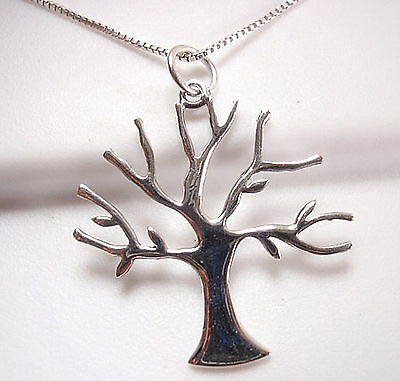 Tree of Life 925 Sterling Silver Pendant Corona Sun Jewelry