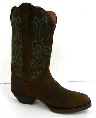 Justin Boots Womens Sorrel Apache Stampede Boot Size 7.5