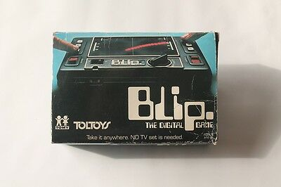 Toltoys Blip with box, vintage Tomy electronic game