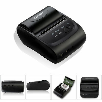 Portable Bluetooth Thermal Receipt POS Printer Wireless Mobile For Andriod IOS