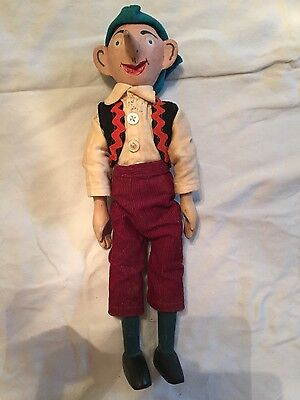 """Hand Carved Wooden 12"""" Movable Pinocchio Doll: Custom Made Clothing, Folk Art"""