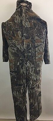 Men's Camo Real Tree Walls Blizzard Pruf Insulated Hunting Outerwear Coveralls