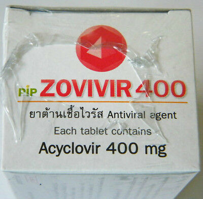 zovivir400 x 4(280Tablets) herpes simplex infections herpes zoster,chickenpox.