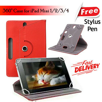 NEW Smart Stand CASE COVER For Apple iPad MINI 1 2 3 4 {R057