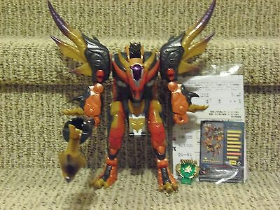 Transformers Galaxy Force Ultra Class Scourge 100% complete excellent Cybertron
