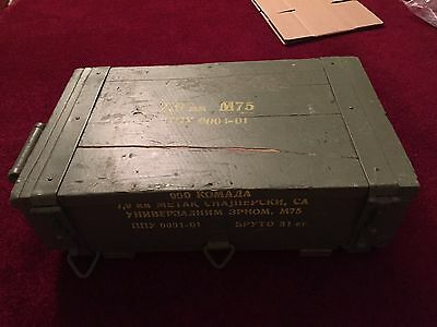 Ammo Crate, 8MM Mauser