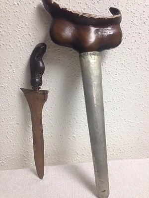 Old Indonesian Keris Sword With Sheath