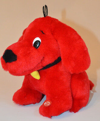 Clifford The Big Red Dog BARKS Pants & EARS Wiggle Plush Toy Scholastic Lovie 72