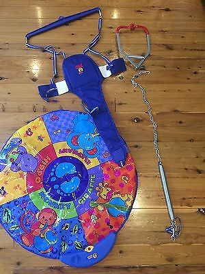 Jolly Jumper Elite with Musical Mat Baby Activity Toy with Door Clamp