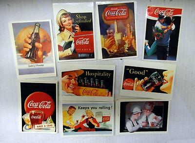 World Of Coca-Cola 198 Stickers Made Italy