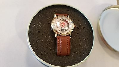 Lionel Train Wristwatch in Oval Tin