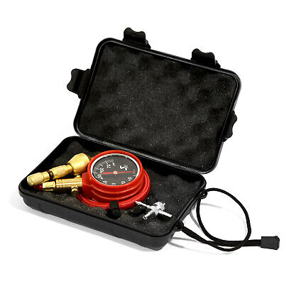 Speedmaster Rapid Tire Air Deflator Kit 4WD 0-75psi Pressure Gauge Valve Tool
