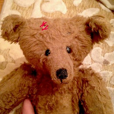 American Vintage Teddy Bear - Plush Material - Disney Connection...17""