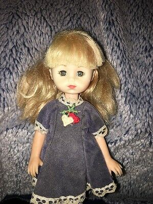 """Vintage 8"""" Vogue Ginny Doll  1977 Dress And Shoes"""