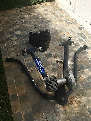 Kinetic Rock & Roll Turbo Trainer Indoor Wind Trainer With Cycle Ops Bracket