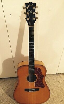 LATE 60s GIBSON GOSPEL ACOUSTIC ELECTRIC FLAT TOP