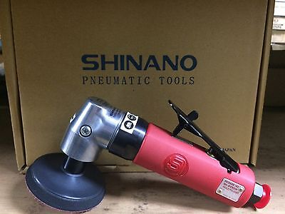 """Shinano Pneumatic SI-2009 3"""" Single Action Polisher Brand New Made In Japan"""