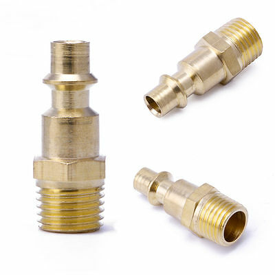 "HOT 1/4"" NPT Quick Coupler Air Line Hose Male Connector Airline Fittings Tool"