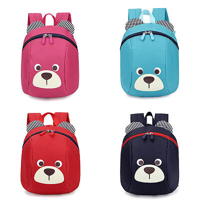 Aged 1-3 Toddler Backpack Anti-lost Kids Baby Bag Cute Kindergarten School Bag