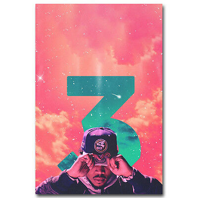 Chance the Rapper Hot Music Rap Art Silk Poster Print 12x18 inch