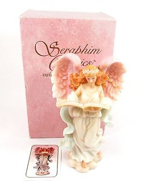 """Seraphim Angel 7"""" Full Figure ~ Melody Heaven's Song ~ with Box #78069"""