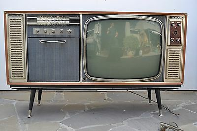 vintage / antique television - stereo - record player console