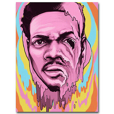 Chance the Rapper Hot Music Rap Art Silk Poster Print 12x18 24x36 inch 019