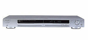 Sony DVP-NS330 DVD Player - Silver includes Scart leads and Remote