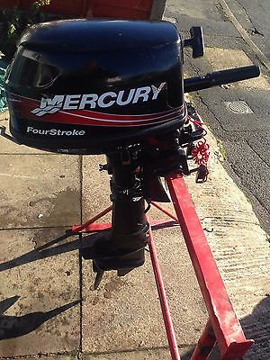 Mercury 6Hp 4Stroke Short Shaft Outboard 2003
