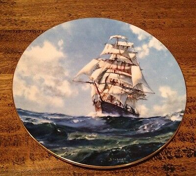 Royal Doulton Cabinet Plate 'Running Free' John Stobart Second Of Series Le15000