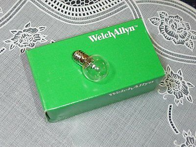 Genuine Welch Allyn 02500 Vacuum Lamp 6 Volts NEW IN BOX!