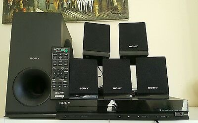 Sony DAV-TZ140 Surround Sound Home Theater System DVD Player