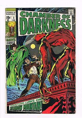 Chamber of Darkness # 3  Shadow Mountain grade 5.0 scarce book !!