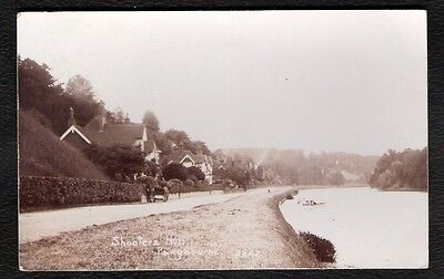 Pangbourne Shooters Hill Photo Postcard