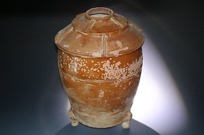 Large Chinese Han Dynasty Pottery Model Granary, 2Nd Cent Bc - 2Nd Cent Ad