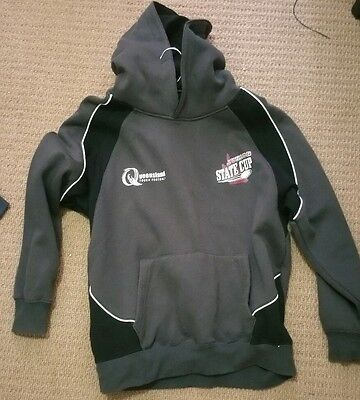 Touch football hoodie jumper