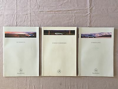 3 documentations commerciales Mercedes-Benz