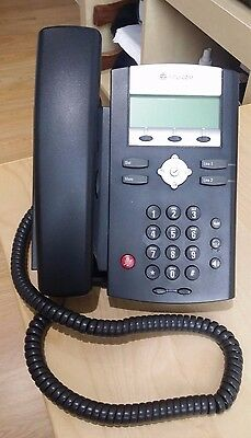 Polycom SoundPoint IP 320 IP Phone - With UK Power Supply