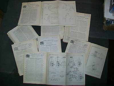AIRCRAFT RELATED  PATENTS 1920's & 1930's (ONE HUNDRED)