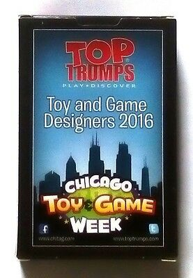 Top Trumps - Chicago Toy Game Week - Toy & Game Designers 2016 - New & Sealed
