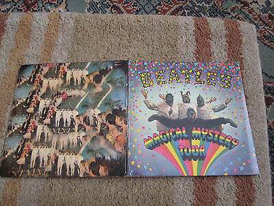 The Beatles MAGICAL MYSTERY TOUR - 1967 Cover & Book - No Records